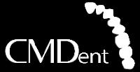 CMDent logo blanco