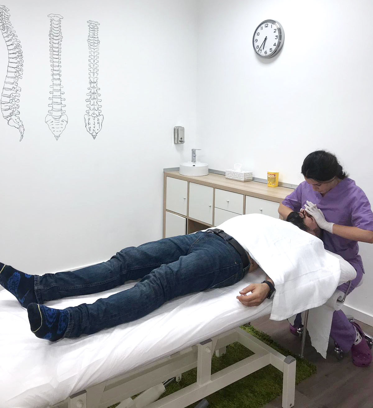 Centro médico y dental, servicio fisioterapia